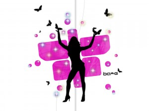 La Bolly Aérobic Attitude dans Bolly Aérobic butterfly-girl-pink-black3-300x225